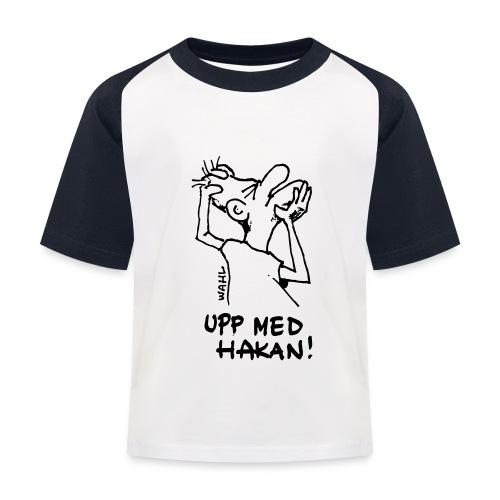 UPP MED HAKAN! - Baseboll-T-shirt barn