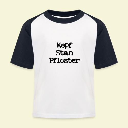 KSP Schrift - Kinder Baseball T-Shirt