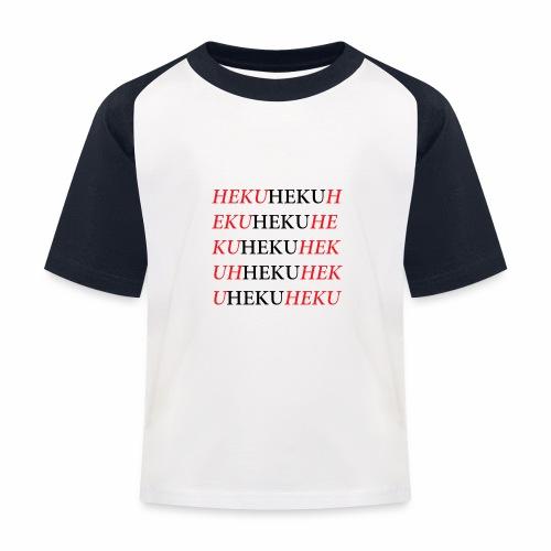 HekuHeku - Lasten pesäpallo  -t-paita