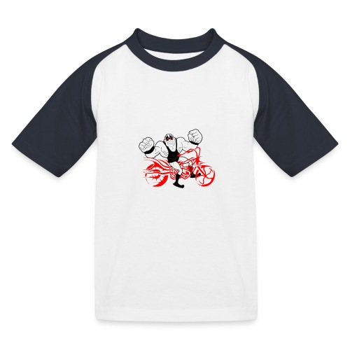 wsa bike - Kinder Baseball T-Shirt