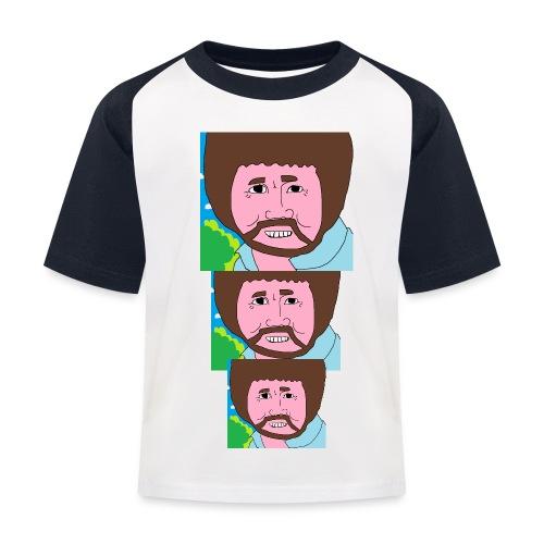 Bob Ross - Kids' Baseball T-Shirt