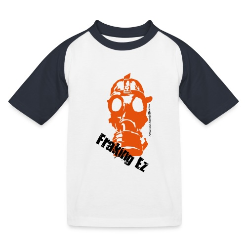 Anti - fraking - Camiseta béisbol niño