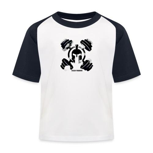 ITALIANWARRIORS90cross - Maglietta da baseball per bambini