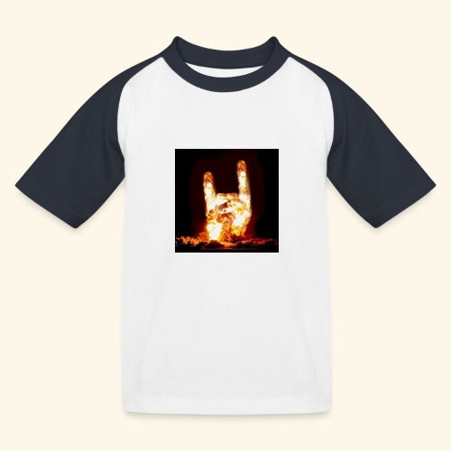fingers bomb - T-shirt baseball Enfant