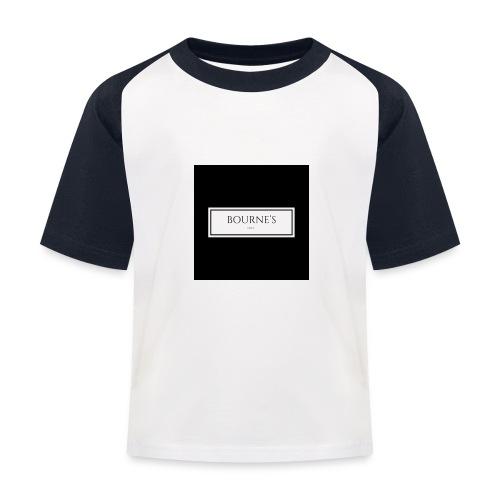 Bourne's Inc - Kids' Baseball T-Shirt