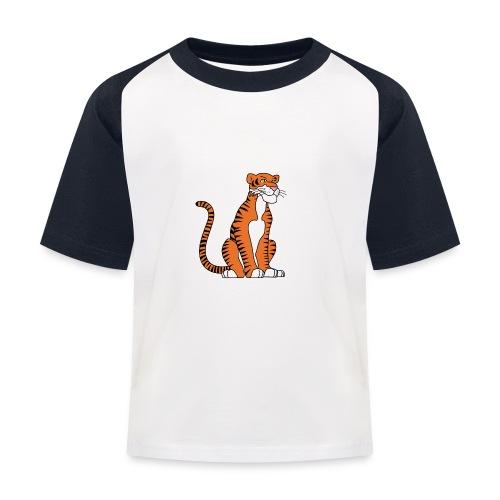 tiger - Kinder Baseball T-Shirt