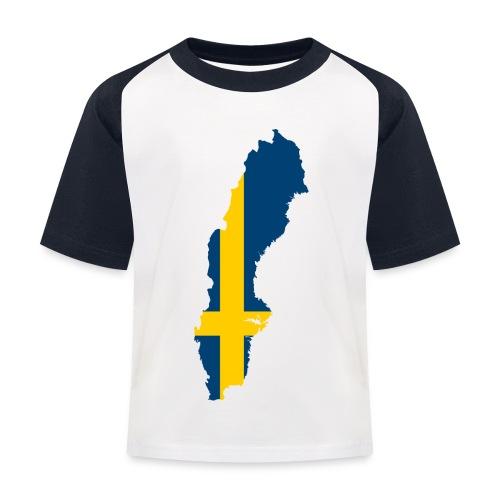 Sweden - Kinderen baseball T-shirt