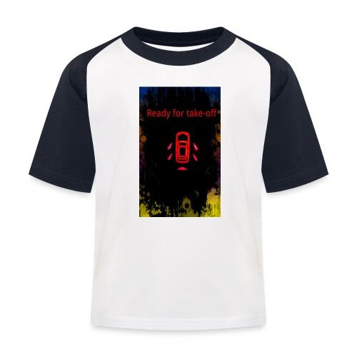 ready_for_take-off - Kinder Baseball T-Shirt