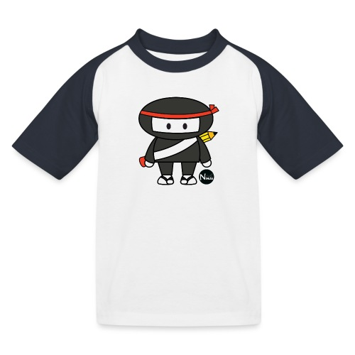 drillNinja_shirt2 - Kinder Baseball T-Shirt