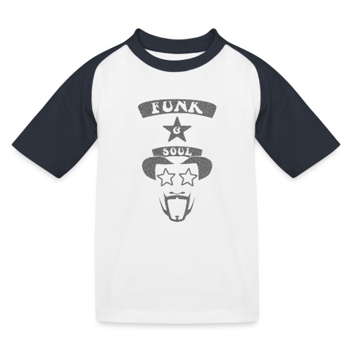 bootsy grey noise png - Kids' Baseball T-Shirt