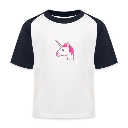 unicorn print shirts - Baseball T-shirt til børn