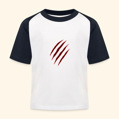 garras - Camiseta béisbol niño