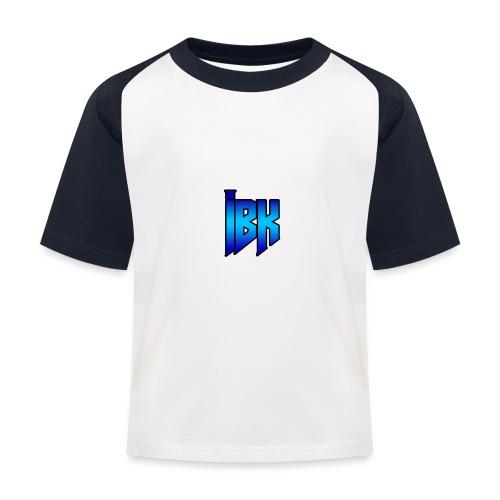 T-SHIRT MET LOGO OP - Kinderen baseball T-shirt