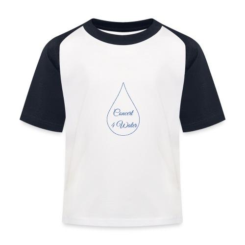 Concert 4 Water's Image Logo - Kids' Baseball T-Shirt
