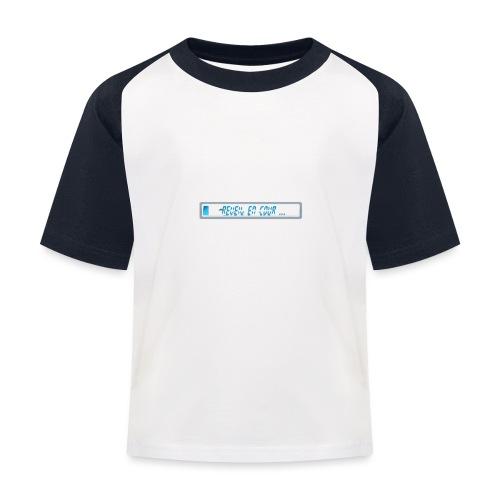 barre - T-shirt baseball Enfant