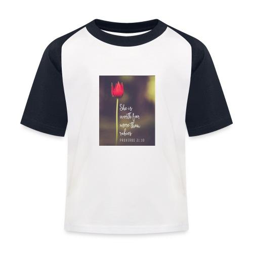IMG 20180308 WA0027 - Kids' Baseball T-Shirt