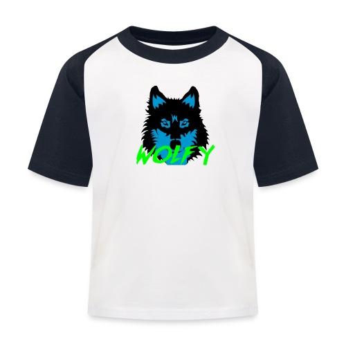 snap back 1 - Kids' Baseball T-Shirt