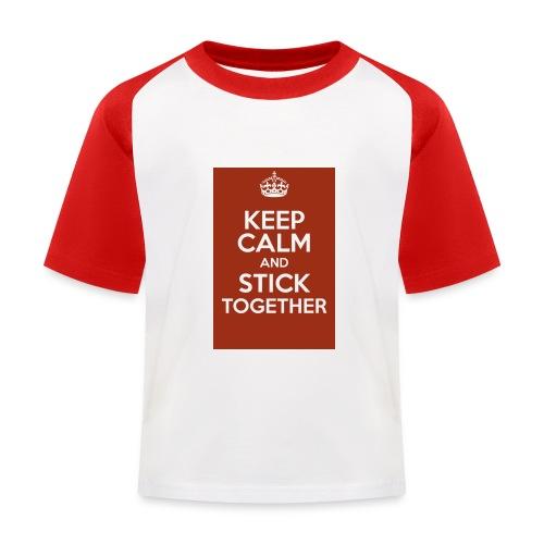 Keep calm! - Kids' Baseball T-Shirt