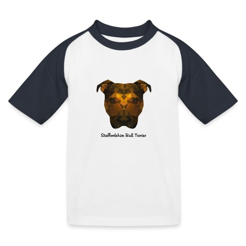 Staffordshire Bull Terrier - Kids' Baseball T-Shirt