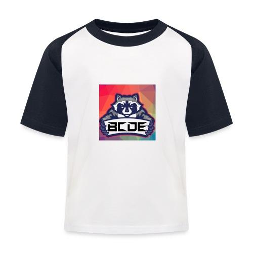 bcde_logo - Kinder Baseball T-Shirt