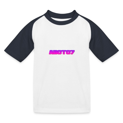Abot07 - Baseboll-T-shirt barn