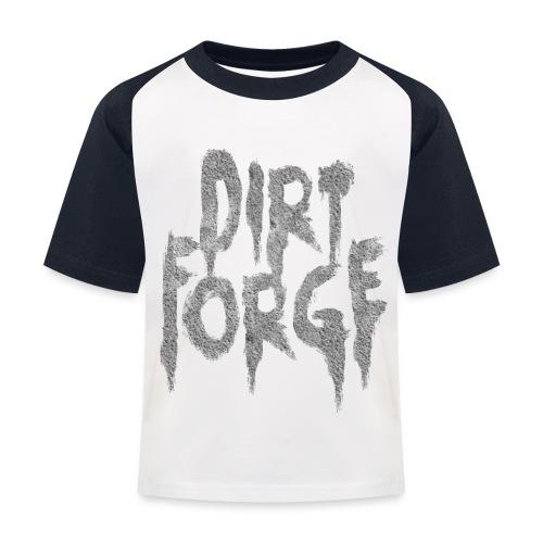 Dirt Forge Gravel t-shirt - Baseball T-shirt til børn