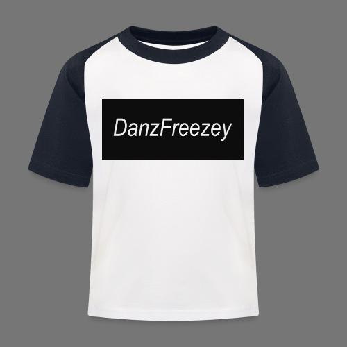 DanzFreezeyShirtLogo png - Kids' Baseball T-Shirt