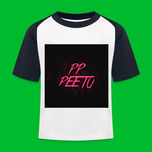 Ppppeetu logo - Lasten pesäpallo  -t-paita
