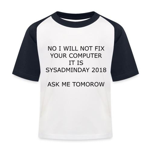 fixpc - Kids' Baseball T-Shirt