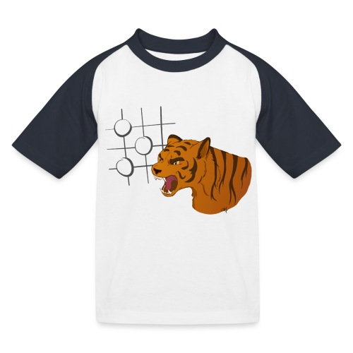 Tiger Mouth - T-shirt baseball Enfant