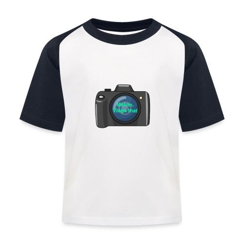 Melvin vlogs that merch - Kids' Baseball T-Shirt