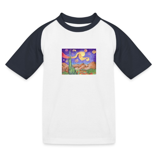 1 - Camiseta béisbol niño