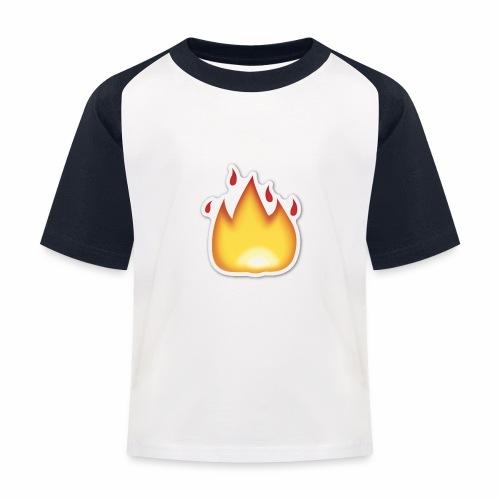 Liekkikuviollinen vaate - Lasten pesäpallo  -t-paita