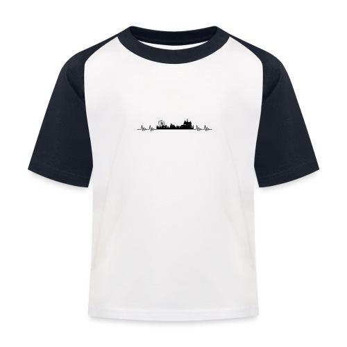 Med hjert de slæ for Kloste! - Baseball T-shirt til børn