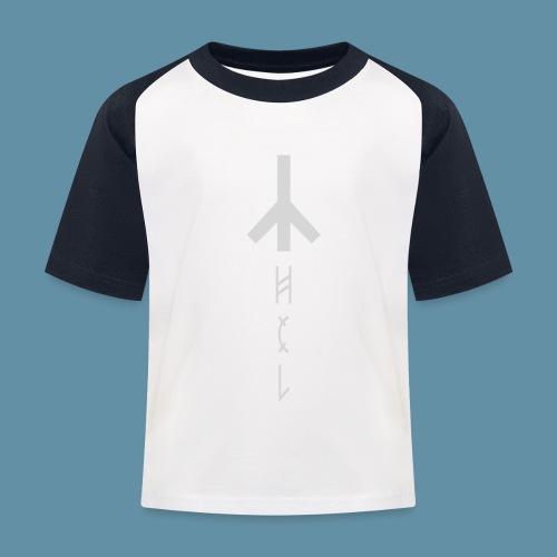 Logo Hel 02 copia png - Maglietta da baseball per bambini