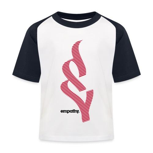 empathy e2 - Koszulka bejsbolowa dziecięca
