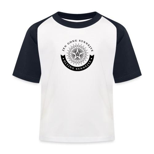 Jen gong synnejye... Oltins synnejye! - Baseball T-shirt til børn