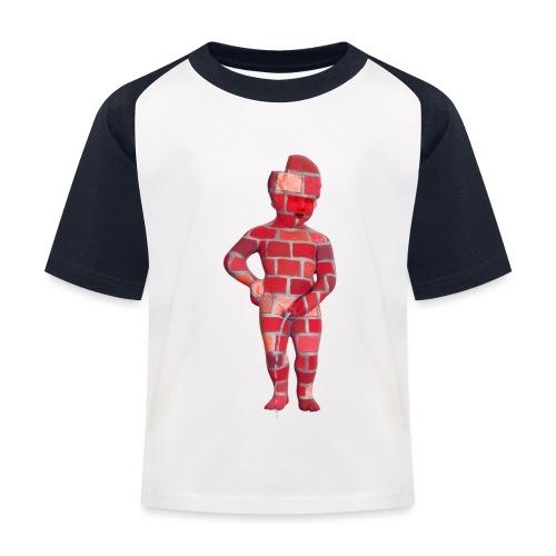 BRiCO ♀♂ | mannekenpis - T-shirt baseball Enfant