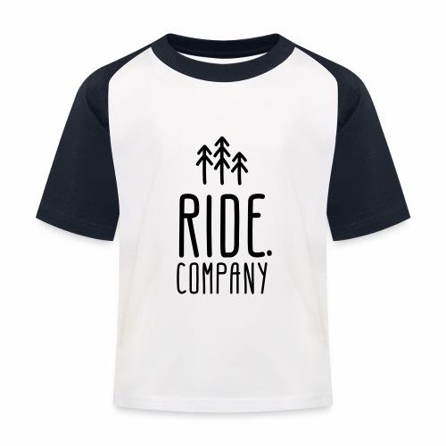 RIDE.company Logo - Kinder Baseball T-Shirt