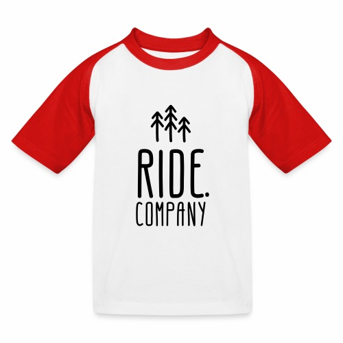 RIDE.company Logo - Kinder Baseball T-Shirt
