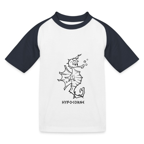 L'Hypocorne - T-shirt baseball Enfant