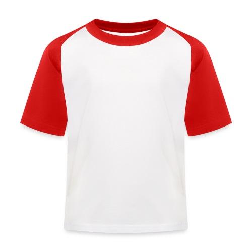 White Logo - Kids' Baseball T-Shirt