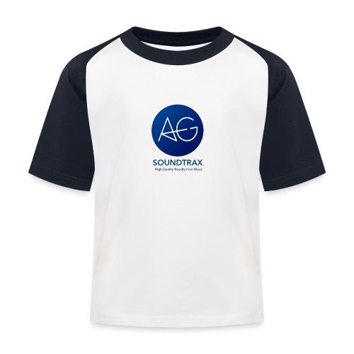 AGsoundtrax PNG - Kids' Baseball T-Shirt