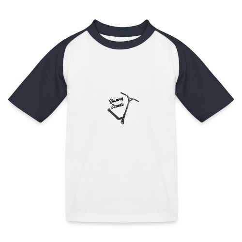 Danny Scootz logo - Kids' Baseball T-Shirt