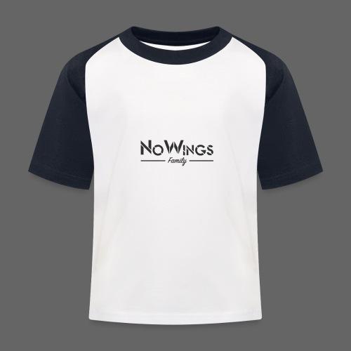 NoWings_Fam - Kinder Baseball T-Shirt