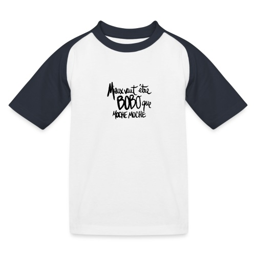 BOBO CHIC - T-shirt baseball Enfant
