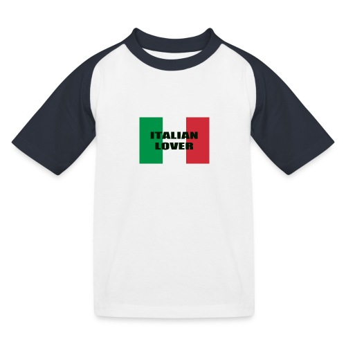 ITALIAN LOVER - Maglietta da baseball per bambini