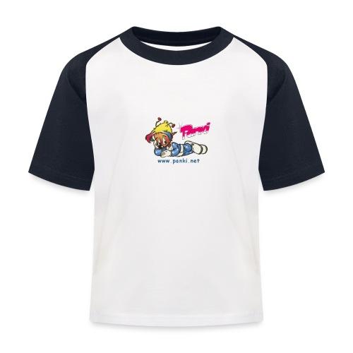 panki sticker neu - Kinder Baseball T-Shirt