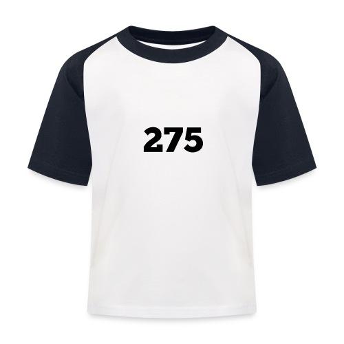 275 - Kids' Baseball T-Shirt