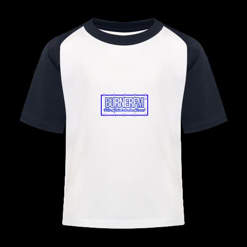 BurnerFM Hier Sürst du den Sound - Kinder Baseball T-Shirt